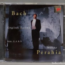 CDs de Música: CD. BACH. MURRAY PERAHIA . ENGLISH SUITES NOS. 2, 4 & 5. Lote 295521643