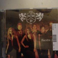 CDs de Música: RBD. NUESTRO AMOR. CD .. Lote 295523063