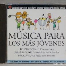 CDs de Música: CD. MUSICA PARA LOS MAS JOVENES. SAINT SAENS. PROKOFIEV. TCHAIKOVSKY. Lote 295523243