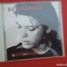 CDs de Música: BERNARDO , LA VOZ DEL TIEMPO - CD. Lote 295527433