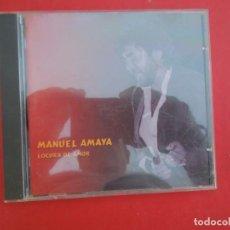 CDs de Música: MANUEL AMAYA - LOCURA DE AMOR - CD. Lote 295529118
