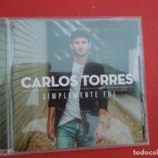 CDs de Música: CARLOS TORRES , SIMPLEMENTE FUI - CD. Lote 295529593