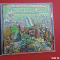 CDs de Música: LOS HINCHAPELOTAS DE VERA LUQUE - CARNAVAL 2012 CHIRIGOTA DE CADIZ - CD. Lote 295531373