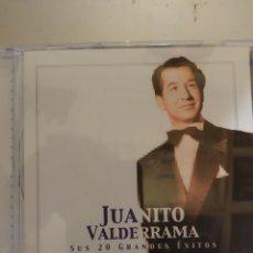 CDs de Música: JUANITO VALDERRAMA. SUS 20 GRANDES ÉXITOS. CD .. Lote 295533268