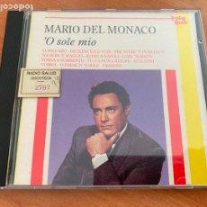 CDs de Música: MARIO DEL MONACO ( O SOLE MIO) CD 12 TRACK ITALY (CDIM1). Lote 295535878