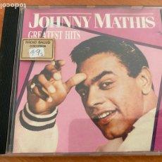 CDs de Música: JOHNNY MATHIS (GREATEST HITS) CD 16 TRACK (CDIM1). Lote 295536113
