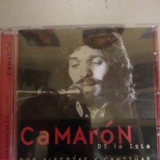 CDs de Música: CAMARÓN DE LA ISLA. POR ALEGRÍAS Y CANTIÑAS. CD .. Lote 295538538