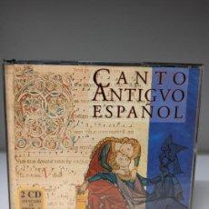 CDs de Música: CANTO ANTIGUO ESPAÑOL 2 CDS MÚSICA EN LATÍN. Lote 295542698