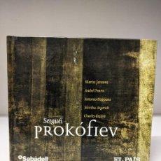 CDs de Música: PROKOFIEV CD CON LIBRETO 16 PISTAS. Lote 295543368