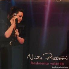 CDs de Música: NIÑA PASTORI - REALMENTE VOLANDO - CD + DVD. Lote 295544118