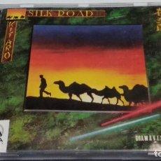 CDs de Música: CD ( KITARO - SILK ROAD II ) CD GAIA RECORDS MADE IN USA 1985 GRAMAVISION - MUY POCO USO. Lote 295546553
