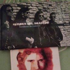 CDs de Música: HÉROES DEL SILENCIO Y CAMARÓN DE LA ISLA. CDS.. Lote 295548938