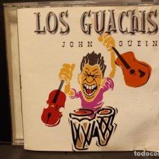 CDs de Música: LOS GUACHIS-JOHN GUEIN CD ALBUM 2001 LA ROSA RECORDS SPAIN PEPETO. Lote 295549788