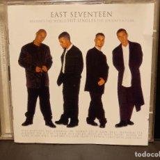 CDs de Música: EAST SEVENTEEN AROUND THE WORLD HIT SINGLES THE JOURNEY SO FAR DOBLE CD PEPETO. Lote 295549953