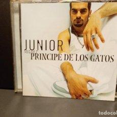 CDs de Música: JUNIOR - PRINCIPE DE LOS GATOS / CD ALBUM DEL 2003 UNIVERSAL PEPETO. Lote 295550788