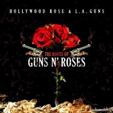 CDs de Música: HOLLYWOOD ROSE & L.A. GUNS - THE ROOTS OF GUNS N' ROSES - CD DIGIPACK. Lote 295609373