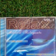 CDs de Música: CD - RELAX VOL.1 MUSICA RELAJANTE TAI CHI ARMONIA INTERIOR MEDITACIÓN. Lote 295610343