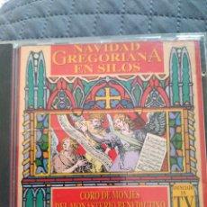 CDs de Música: CD - NAVIDAD GREGORIANA EN SILOS CORO DE MONJES DEL MONASTERIOS BENEDICTINO DE SANTO DOMINGO DE SILO. Lote 295614413