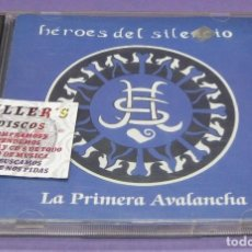 CDs de Música: HÉROES DEL SILENCIO - LA PRIMERA AVALANCHA - 2X CD LIVE IN MILAN. Lote 295622978