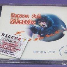 CDs de Música: HÉROES DEL SILENCIO - KARAOKE - 2X CD LIVE IN BARCELONA 1-6-96. Lote 295623723