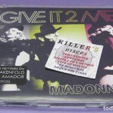 CDs de Música: MADONNA - GIVE IT 2 ME - CD SINGLE. Lote 295626558