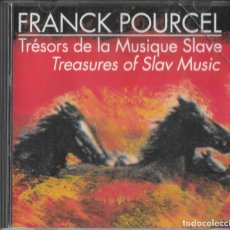 CDs de Música: FRANCK POURCEL - TRÉSORS DE LA MUSIQUE SLAVE - TREASURES OF SLAV MUSIC. Lote 295631148