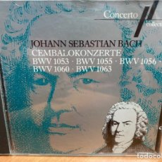 CDs de Música: BACH, IGOR KIPNIS, STUTTGARTER KAMMERORCHESTER, KARL MÜNCHINGER - CEMBALOKONZERTE (CD, ALBUM). Lote 295639633