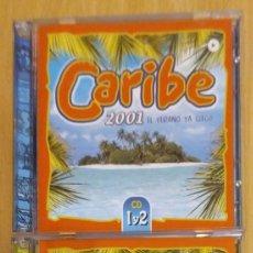 CDs de Música: CARIBE 2001 - 4 CD'S (KING AFRICA, ANGELITOS NEGROS, ANDY VENTURA, EDWIN RIBERA, RUBBY PEREZ...). Lote 295640223