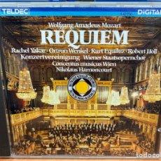 CDs de Música: MOZART, CONCENTUS MUSICUS WIEN, NIKOLAUS HARNONCOURT - REQUIEM (CD, ALBUM). Lote 295640493