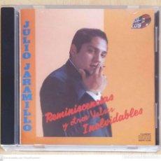 CDs de Música: JULIO JARAMILLO (20 GRANDES EXITOS - REMINISCENCIAS Y OTROS VALSES INOLVIDABLES) CD 1995 COLOMBIA. Lote 295640698