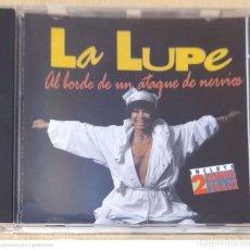 CDs de Música: LA LUPE (AL BORDE DE UN ATAQUE DE NERVIOS) CD 1993 MANZANA. Lote 295640863