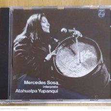 CDs de Música: MERCEDES SOSA (INTERPRETA A ATAHUALPA YUPANQUI) CD 1989. Lote 295641813