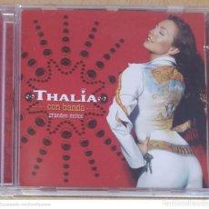 CDs de Música: THALIA (CON BANDA - GRANDES EXITOS) CD 2001. Lote 295642183