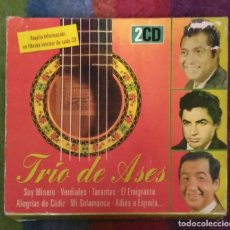 CDs de Música: RAFAEL FARINA - ANTONIO MOLINA - JUANITO VALDERRAMA (TRIO DE ASES) 2 CD'S 1999. Lote 295642763