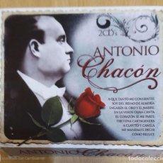 CDs de Música: ANTONIO CHACON - 2 CD'S 2008. Lote 295642903