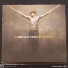 CDs de Música: DAVID BISBAL (PREMONICION) CD + DVD 2006 - TOMATITO, VICENTE AMIGO. Lote 295643008
