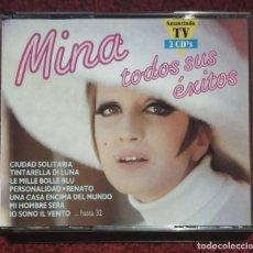 CDs de Música: MINA (TODOS SUS EXITOS) 2 CDS 1991. Lote 295643088