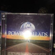 CDs de Música: VARIOS - BIGGER BETTER-POWER BALLADS VIRGIN 2 CD. Lote 295648423