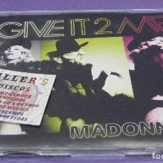 CDs de Música: MADONNA - GIVE IT 2 ME (2 TRACKS) - CD. Lote 295706883
