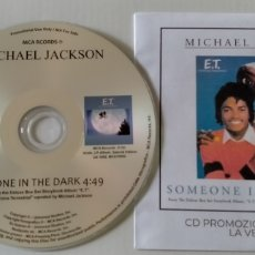 CDs de Música: MICHAEL JACKSON RARE SIMEONE IN THE DARK ITALIAN PROMO CD SINGLE. Lote 295711003