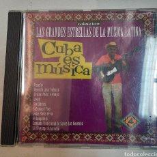 CDs de Música: COLECCION GRANDES ESTRELLAS DE LA MUSICA LATINA. CUBA ES NUSICA. VV.AA.. Lote 295724063