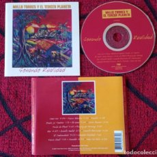 CDs de Música: MILLO TORRES Y EL TERCER PLANETA ** SOÑANDO REALIDAD ** CD ORIGINAL 1997 USA. Lote 295788943