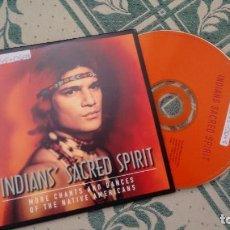 CDs de Música: CD-SINGLE ( PROMOCION) DE INDIAN SACRED SPIRIT. Lote 295824293