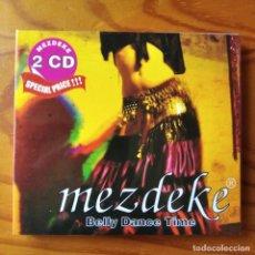 CDs de Música: MEZDEKE - BELLY DANCE TIME - DOBLE CD - MUSICA TURCA. Lote 295833958