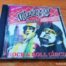 CDs de Música: ORQUESTA MONDRAGON ROCK & ROLL CIRCUS EN VIVO CD ALBUM DEL AÑO 1988 JAVIER GURRUCHAGA 19 TEMAS. Lote 295844088