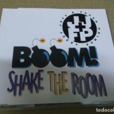 CDs de Música: JAZZY JEFF & FRESH PRINCE (CD/SN) BOOM! SHAKE THE ROOM (4 TRACKS) AÑO – 1993. Lote 295844953