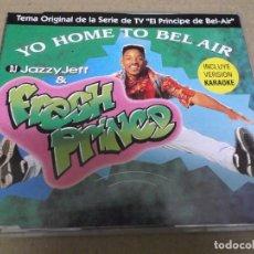 CDs de Música: JAZZY JEFF & FRESH PRINCE (CD/SN) YOU HOME TO BEL-AIR (2 TRACKS) AÑO – 1993. Lote 295845093