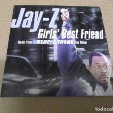 CDs de Música: JAY-Z (CD/SN) GIRL'S BEST FRIEND (2 TRACKS) AÑO – 1999 – BANDA SONORA BLUE STREAK. Lote 295845358
