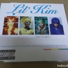 CDs de Música: LIL' KIM (CD/SN) NOT TONIGHT (4 TRACKS) AÑO – 1997. Lote 295845558