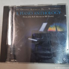CDs de Música: A PIANO ANTHOLOGY (FROM JELLY ROLL MORTON TO BILL EVANS). Lote 295869118